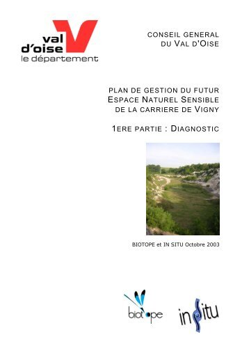 PLAN DE GESTION DU FUTUR ESPACE NATUREL ... - Natureparif