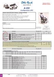 Tarifs et mesures Version AP2 - Location / vente de fauteuil roulant