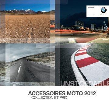 CATALOGUE BMW ACCESSOIRES ... - Moto Plus