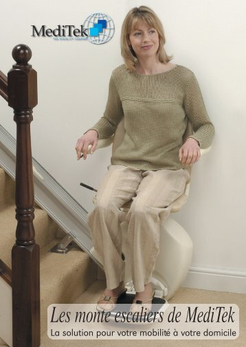 Les monte escaliers de MediTek - Ergovie