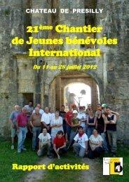 bilan 2012.pdf - Balladins du Château