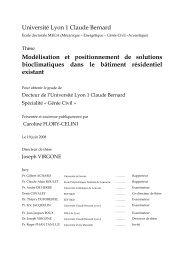 Modélisation et positionnement de solutions bioclimatiques ... - valerie