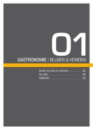 GASTRONOMIE l BLUSEN 8x HEMDEN - Weber Werbung GmbH