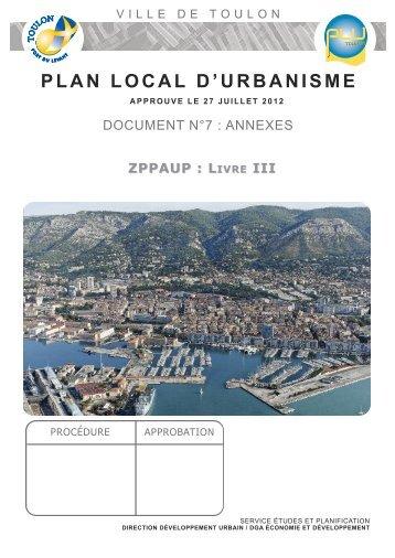 Livre III - Mairie de Toulon