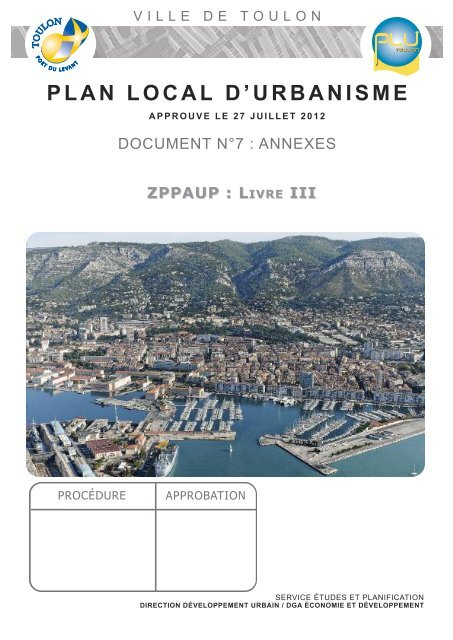 Livre Iii Mairie De Toulon