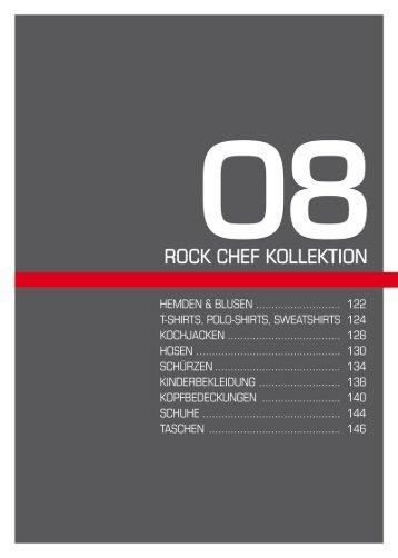 ROCK CHEF KOLLEKTION - Weber Werbung GmbH