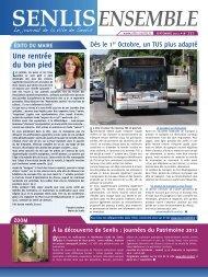 SENLiS ENSEMBLE SEPTEMBRE 2012 - N°277 - Bibliothèque ...