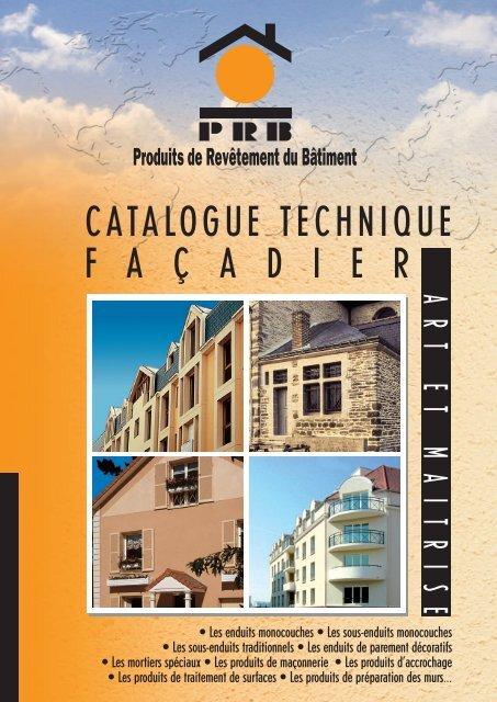 Catalogue Façadier - Econology