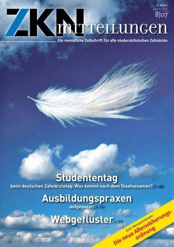 Studententag Ausbildungspraxen Webgeflüster_S. 518