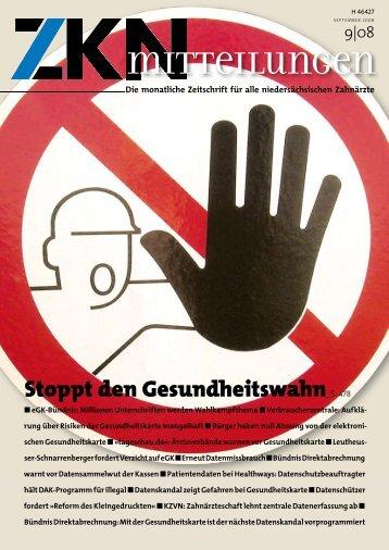 Stoppt den Gesundheitswahn_S. 478 - Zahnärztekammer ...