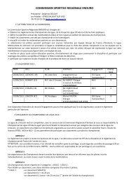 Reglement LMRL enduro 2013 - Ligue Motocycliste Régionale du ...
