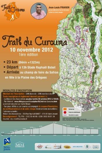 Trail du curcuma sit.. - Sport PRO, Organisateur de courses.