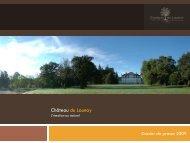 Téléchargez le dossier de presse du Chateau du Launay