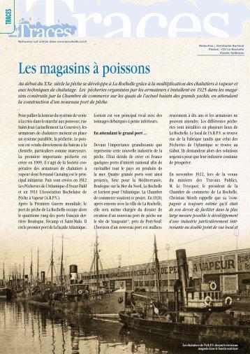 Les magasins à poissons - (CCI) de La Rochelle