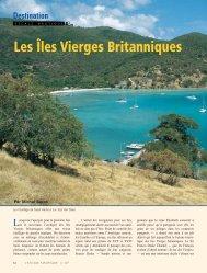 Les Îles Vierges Britanniques - L'Escale Nautique