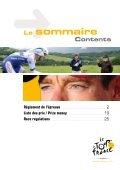 règlement de l'épreuve race regulations - Tour de France - Page 2