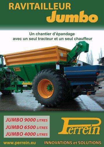 PERREIN; Ravitailleur JUMBO; JUMBO 9000 LITRES; JUMBO 6500 ...