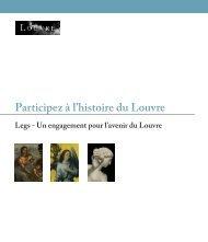 la brochure sur le legs au format PDF - Musée du Louvre