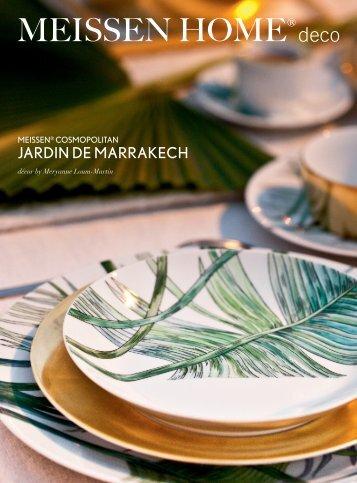 MEISSEN COSMOPOLITAN Jardin de Marrakech