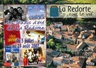 juillet 2007 - La Redorte