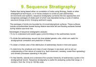 9. Sequence Stratigraphy