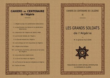 LES GRANDS SOLDATS - 1830-1962 ENCYCLOPEDIE de L'AFN