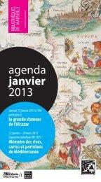 Télécharger l'agenda de janvier 2013 - Bibliothèques municipales ...