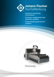 Precision measuring instruments components and systems