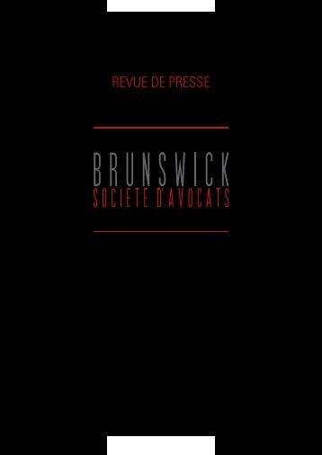 2012 – Revue de presse globale Brunswick