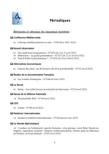derniers numros de priodiquespdf gendarmerie nationale