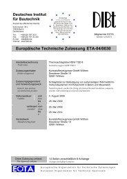 Europäische Technische Zulassung ETA-04/0030 - ACP ...