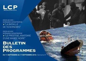 Du 11 Septembre au 17 Septembre 2010 - LCP-An
