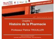 Histoire de la Pharmacie - Université Virtuelle Paris 5