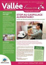 stoP au gasPillagE alimENtairE ! - Service Déchets