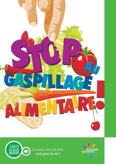 "Guide ""Stop au gaspillage alimentaire"" - le Grand Dijon"