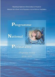 Programme National Périnatalité