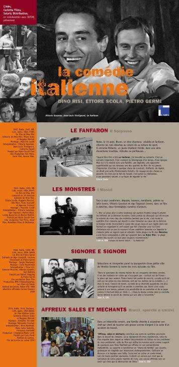 La comédie italienne - Association des Cinémas du Centre