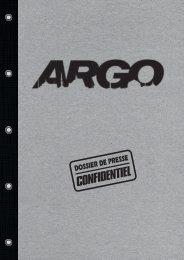 Argo - dossier de presse - La Ferme du Buisson