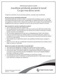 Anesthésie péridurale pendant le travail : Ce que vous devez savoir
