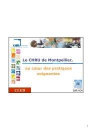 L'analgésie péridurale en chirurgie thoracique - CHU Montpellier