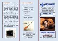Brochure Anestesia - Ospedale Pronto Soccorso Veterinario h24 ...