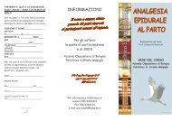 programma e scheda d'iscrizione 9 Novembre - Policlinico S.Orsola ...