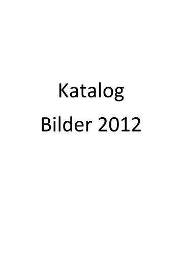 Katalog Bilder 2012
