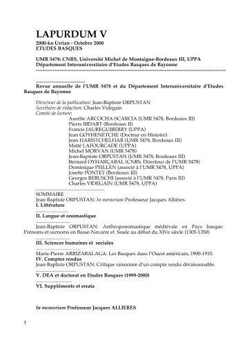 Télécharger l'article en PDF - Travaux de Jean-Baptiste ORPUSTAN