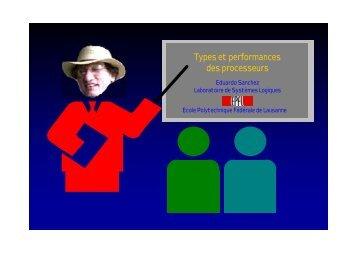 Types et performances des processeurs