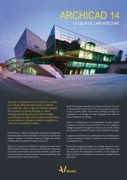 Plaquette ArchiCAD 14 au format PDF - Actinum