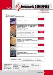 Semanario COMEXPERU Nº 345