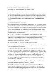 Prazo de publicação dos Editais de Proclamas. Cid Galvão da Silva