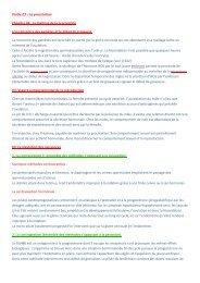 Partie 03 – La procréation Chapitre 04 : La maitrise de la ...