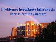 Problèmes hépatiques inhabituels chez la femme enceinte - Afef
